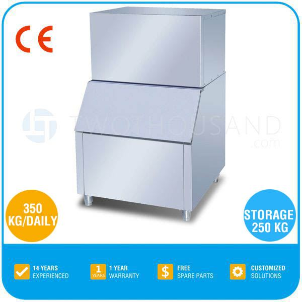 Used Commercial Ice Makers for Sale -350 KG/Daily, Ice Cube, R134a, CE, TT-I74H