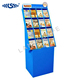 Custom made cardboard book exhibitor/paper books floor display stand /corrugated cardboard display stand for books in book store