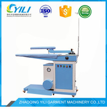 commercial fully automatic laundry steam press ironing with boiler machine