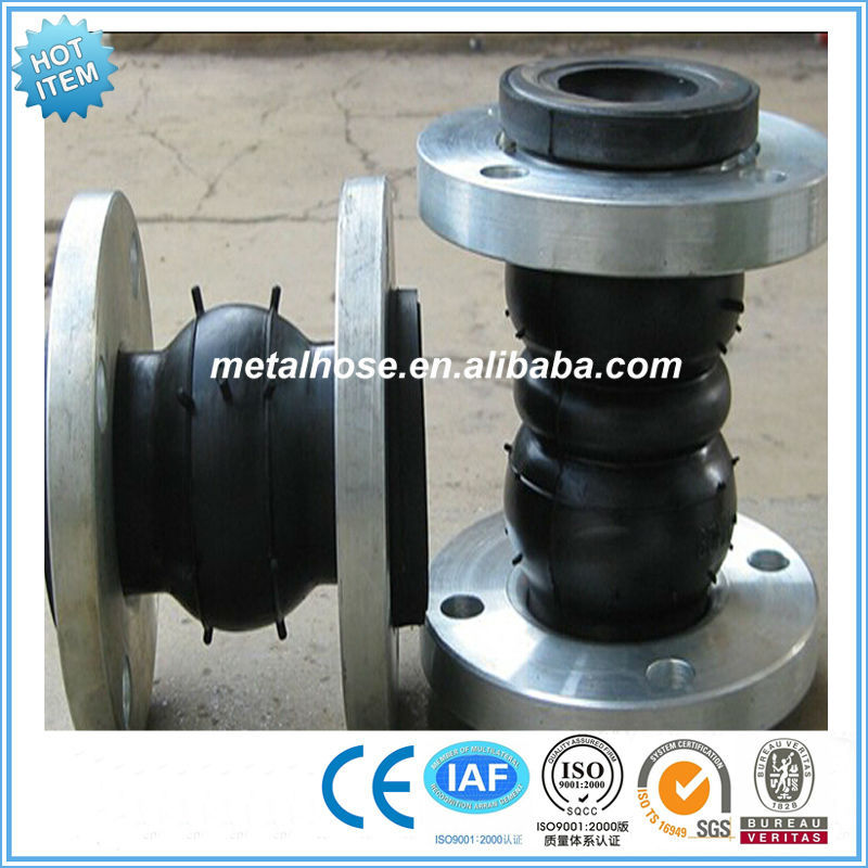 hypalon rubber bellow expansion joint/rubber compensator