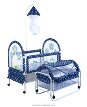 2016 iron baby bed cribs cot playpen furniture for kids china manufacture,wholesale metal cama cuna bebe baby products bedroom