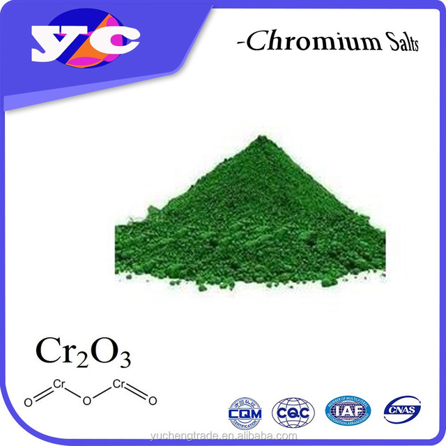 High Purity metallurgical chrome oxide green 99.3%