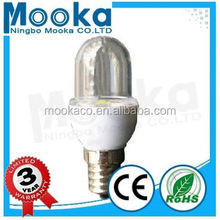 MBA01001 Hot Sale 1w E14 Good Quality SMD2835 Clear Glass a19 led bulb energy star