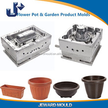 making garden plastic flower pot injection moulding tooling mold