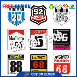 Waterproof out door use self-adhesive custom make matte glossy oracal 3M die cut vinyl sticker, roll vinyl sticker