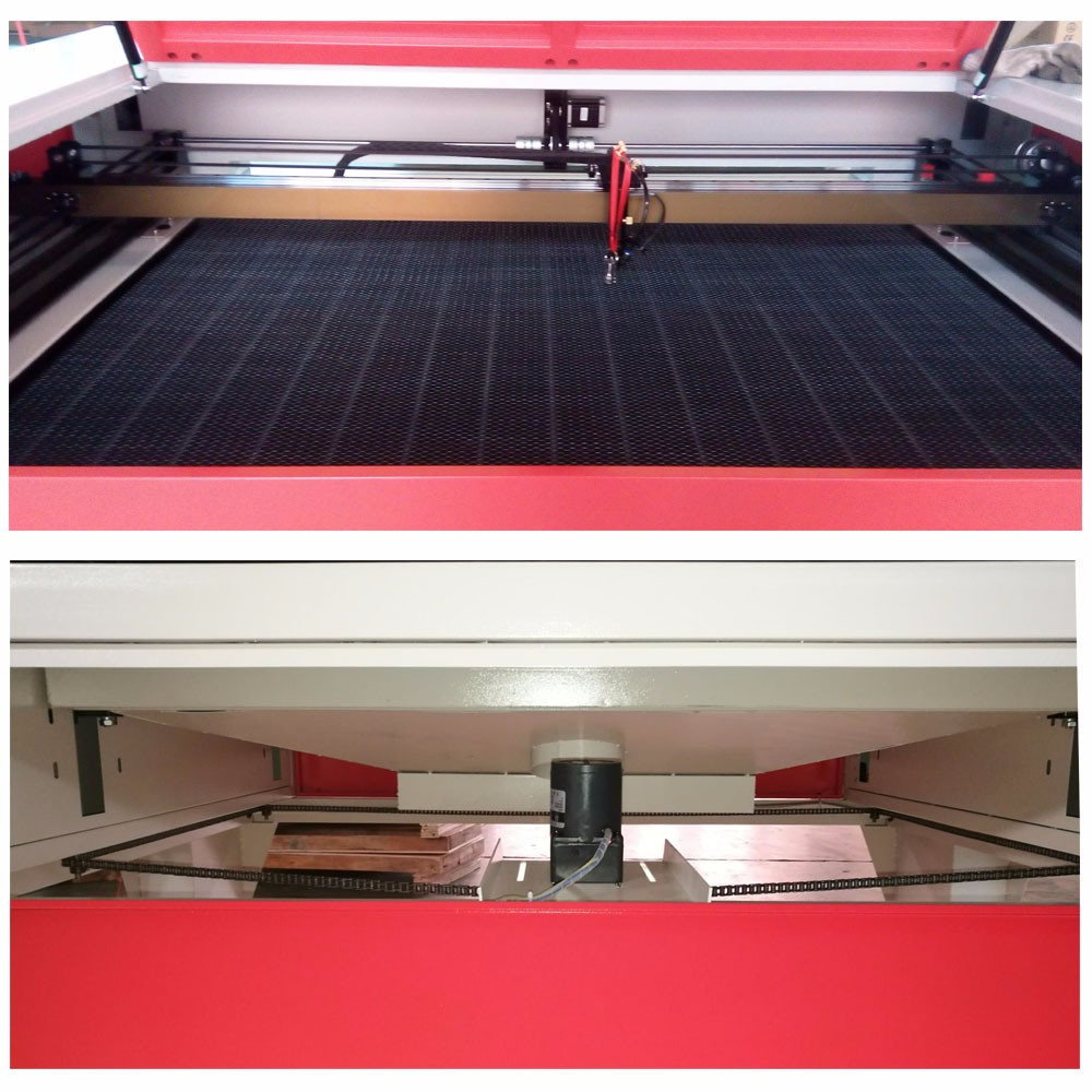 sh1390 1490 shenhui cnc laser cutting machine with 80w 90w 100w 120w 150w reci laser tube
