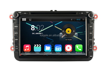 Huifei Android 4.4.2 Car Radio Gps For Vw Golf 6 Capacitive Touch Screen 1024*600 Resolution