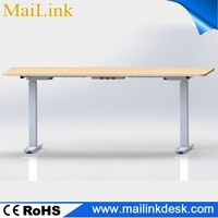 2015 New design electric smart control height adjustable executive office table for European