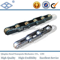 ANSI C224A C2120 steel double pitch double transmission conveyor roller chains k2 attachment