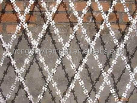 Razor Wire / concertina coil for guard fence from manufacturer from china supplier
