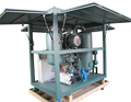 Enclosed Weather Proof Type Vacuum Transformer Oil Regeneration Purifier