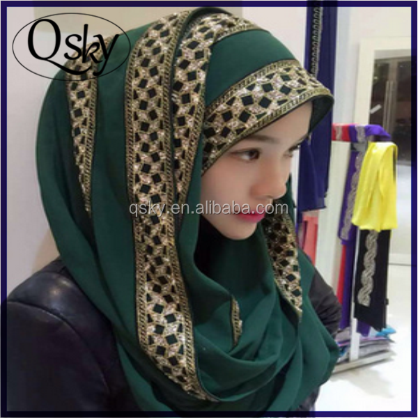 Wholesale fashion sexy modern hijab muslim women