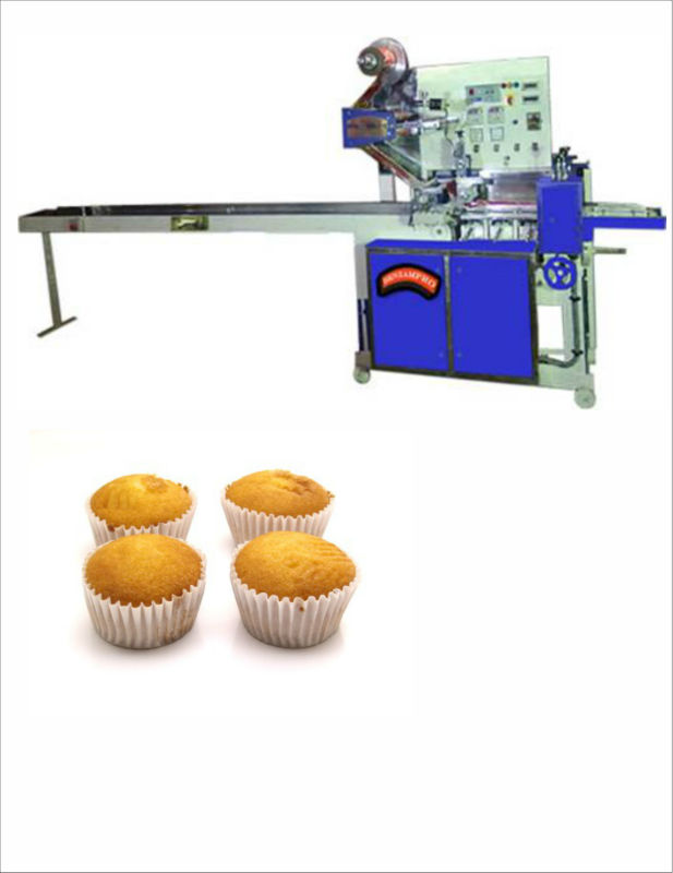 Wrapping Machine for Cup Cake