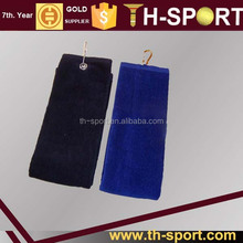 Colored Cotton Sport Towels with Eyelet