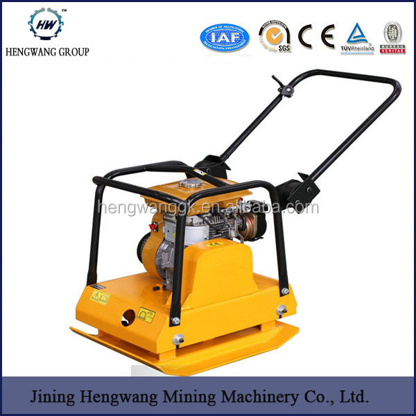 Gasoline/Diesel Powered Plate Compactor 18KN Concrete Road Compacter for sale