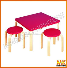table and chairs for kid's pine furniture