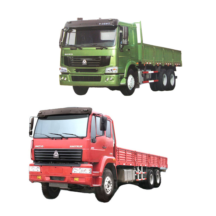 Cheap Price HOWO 6X4 10 wheels Cargo Trucks for Sale
