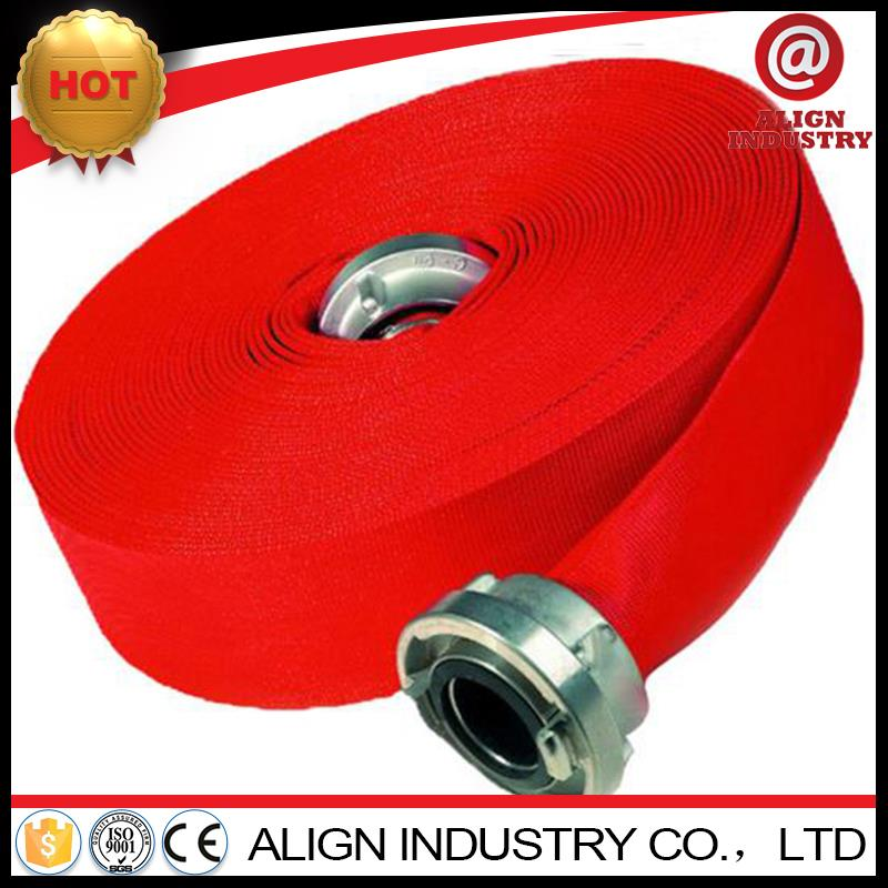pu red color fire hose 50mm fire hydrant hose