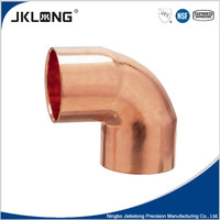 J9004 1/2'' 90 degree copper elbow with UPC,NSF certificate for plumbing