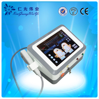 Double chin removal face lift hifu machine