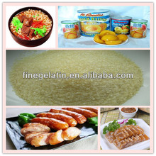 gelatin for canned foods/food grade gelatin as sausage ingredients