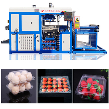 2018 New PP/PS/PVC/PET Plastic Egg Tray Making Forming Machine