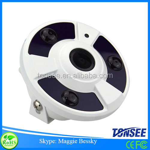 180 Wide angle fish eye cctv camera with P2P ,ip dome fish eye 1080p,Hdtvi Camera