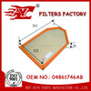 car air filter used for chrysler 300c OEM NO.04861746AB