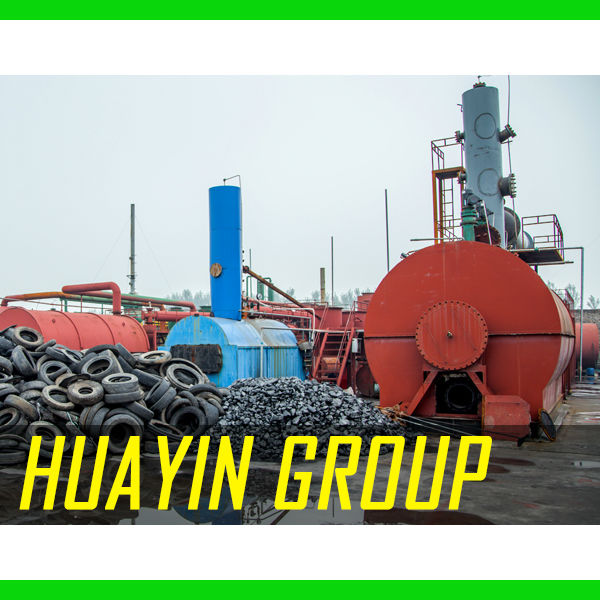 Recycle Plastic Bag Machine to Bio Oil New Energy Huayin Wisdom
