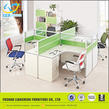 Modern wooden partition price, factory director standard size office partitions