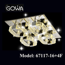 2015 GOWA 3 warranty crystal ceiling decoration light