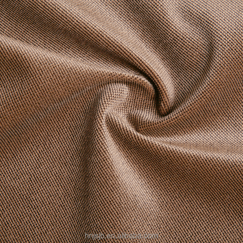 Wholesale China supplier 100% polyester Twill fabric for cloth garment knitted fabric
