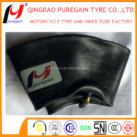 Natural rubber motorcycle inner tube 4.00-8