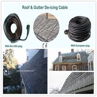 The new Easy to installation PAWO Frost prevention Roof and Gutter Heating Cable