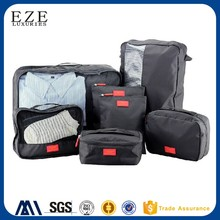 EZE 7 pieces durable mesh clothes organizer bag set travel packing cubes