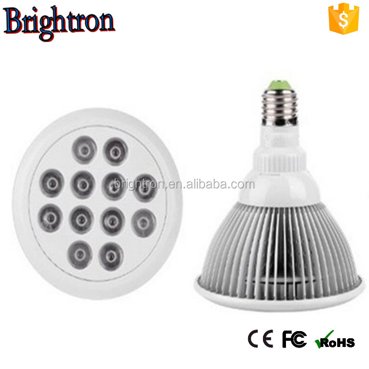 Hydroponic PAR38 E27 LED Grow Light Bulb 12W LED Grow Light Full Spectrum