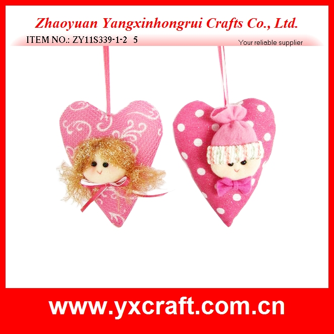 Valentine decoration (ZY11S339-1-2) valentine doll heart shape decoration, valentine gift doll, valentine cute item