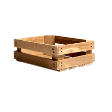 Cheap shabby slat wooden crates for storage wood fruit crate for sale