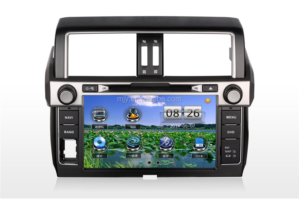 OEM GPS Navigation Car DVD player for Year 2014 Toyota Prado