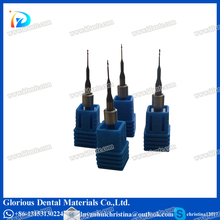 CAD CAM Dental Used Carbide End Mill Cutter