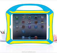 Factory Food grade full protect silicone back case for ipad 2 3 4 with one handle
