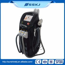 Top quality multifunction beauty equipment e-light ipl rf nd yag laser machine