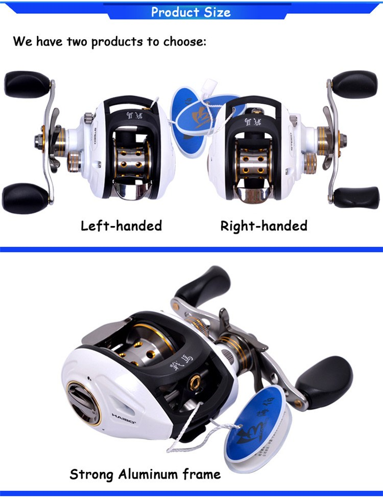 High end reels baitcaster fishing reel china with cheap for Discount fishing reels