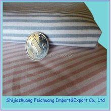 100% poly stripe fabric for pocket use