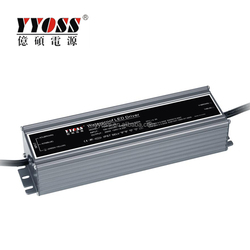 7 Years Warranty 80W 100W 150W 200W Constant voltage IP67 Waterproof Dimmable Power Supply With CE ROHS TUV
