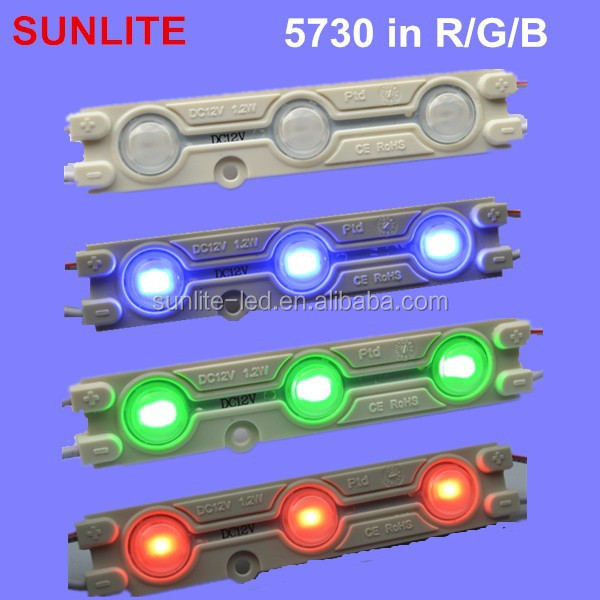 Super bright rgb led module/led module rgb/ high power red/green/blue led module
