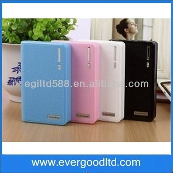 Wholesale Good Price Portable 10400mah Power Bank LJJ-025