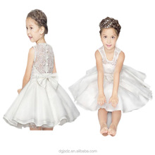 2017Hot sells girl child dress girls party dresses baby frock design pictures