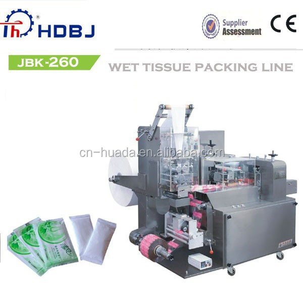 Full Automatic Wet wipes machine