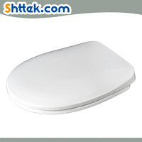 European shape and universal size urea Slow Close bathroom Toilet Seats